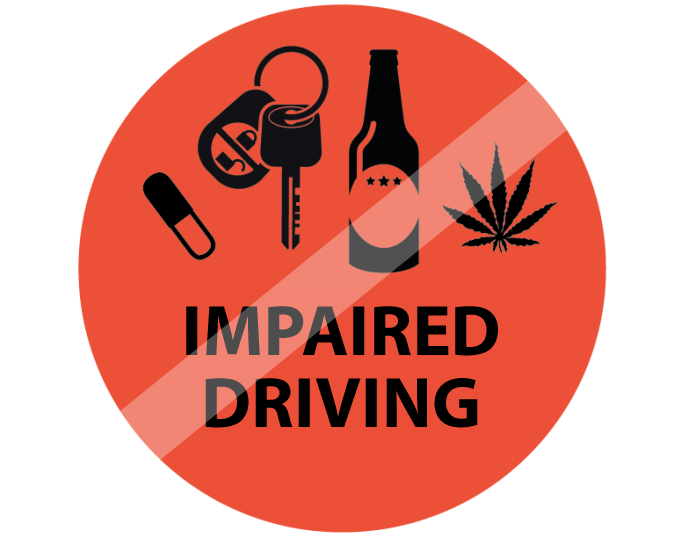 Do not drive while impaired