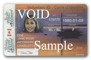 Voluntary ID Card