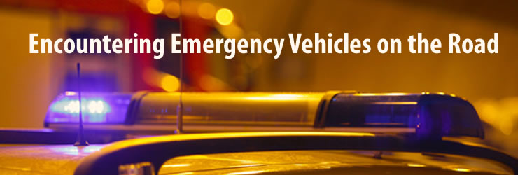 Encountering Emergency Vehicles on the Road