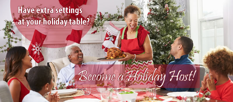 Join the Holiday Host Program